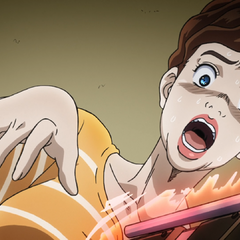 Koichi's mother trembles after thinking Koichi stabbed Tamami