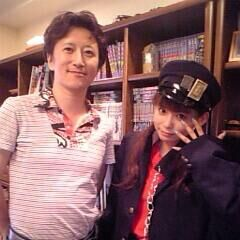 Araki and Shoko Nakagawa in an interview
