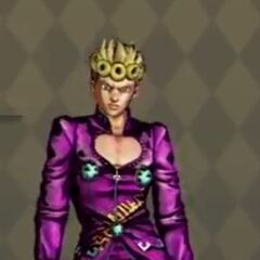 Giorno Costume C in <i>All-Star Battle</i>