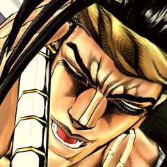 N'Doul during his DHA, <i>Eyes of Heaven</i>