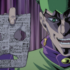 Rohan rips out even more of Koichi's memory pages.