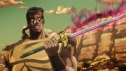 Chaka in Jojo's Bizarre Adventure Anime 2015