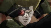 Stroheim reveal cyborg anime