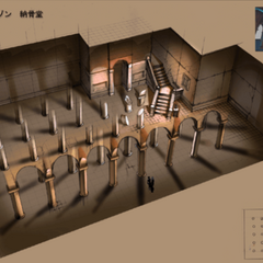 Concept art for the Church Basement map