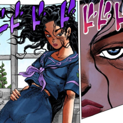 Yukako stares with jealousy at Koichi talking with the class president