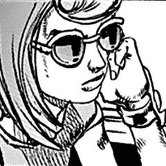 Mitsuba with sunglasses
