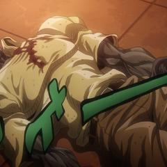 Joseph's drained corpse