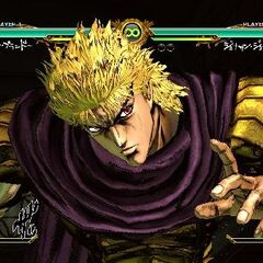 Dio executing his HHA, <i>ASB</i>