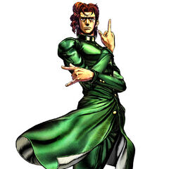 Kakyoin's render in <i><a href=
