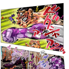 Purple Haze destroys Illuso