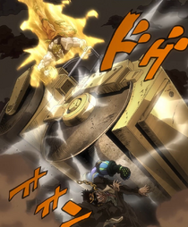 DIO RoadRoller Anime