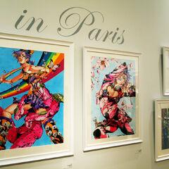 JoJo in Paris Exhibit Art