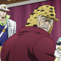 Joseph holding Shizuka with <a href=