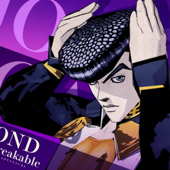 Josuke in the opening for <i>Diamond Records Reversal</i>
