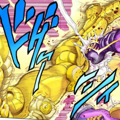Star Platinum's final clash with <a href=