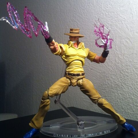 Joseph Joestar with Hermit Purple Action-figure