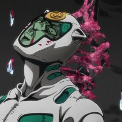 Ghiaccio froze his blood solid to create pillars of ice