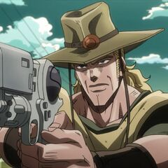 Close-up shot of Hol Horse and Emperor