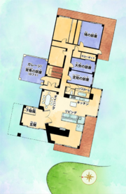 Higashikata House Map