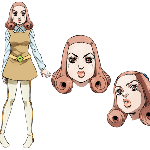 Kyoka concept art for the OVA.