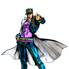 Jotaro's render for <i>All-Star Battle</i>