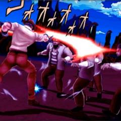 Old Joseph fighting, <i>DR</i>