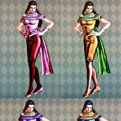 Lisa Lisa's default clothes in different colors
