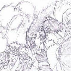 Joseph attacking Wamuu