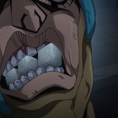 Secco catching all three sugar cubes in his mouth