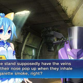 Neptune references Jotaro's smoke trick