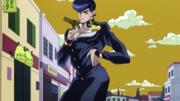 Josuke's final pose