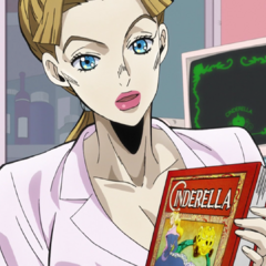 Aya explains her favorite story, <i>Cinderella</i>