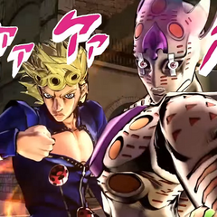 Giorno with Gold Experience Requiem, <i>EoH</i>