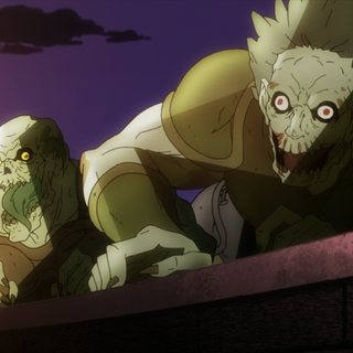 Zombies under the command of Dio