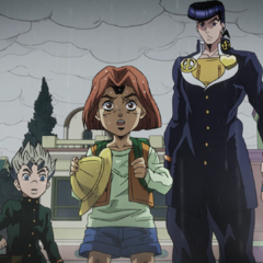 Koichi and the others meet <a href=