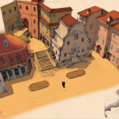 Concept art for the City Streets map