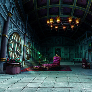 Dio's Castle as a stage in <i><a href=