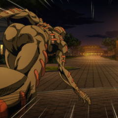 Secco chases after the Coliseum