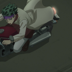 Rohan attempting to outspeed <a href=