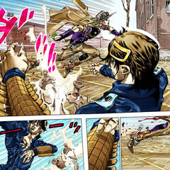 Using acid to attack Gyro
