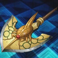 Beetle design arrow in an anime