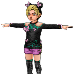 Young Jolyne's model
