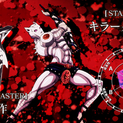 Killer Queen's stats (Kosaku).