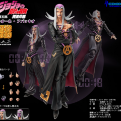 Abbacchio as a SAS figure