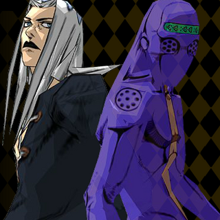 Moody Blues and Abbacchio in <a href=