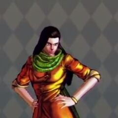Lisa Lisa Costume A in All Star Battle