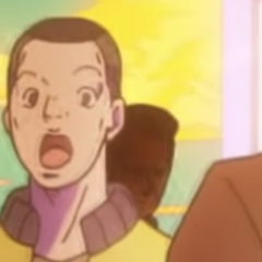 Okuyasu makes a cameo appearance at the end of <a href=
