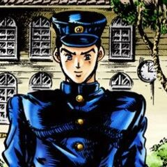 Jotaro Kujo entering junior high