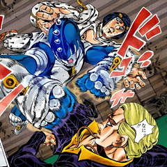 Attacks Prosciutto in the air