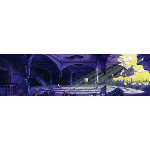 DIO's Mansion second floor (concept art) in <i><a href=